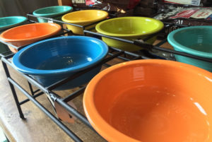Fiestaware Dog Bowl