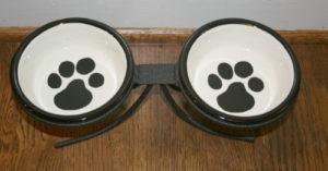 Melia Ceramic Dog Bowls