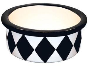 Melia Harlequin Dog Bowl