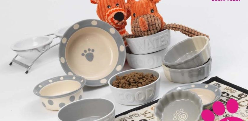 12. Petrageous Dog Bowls