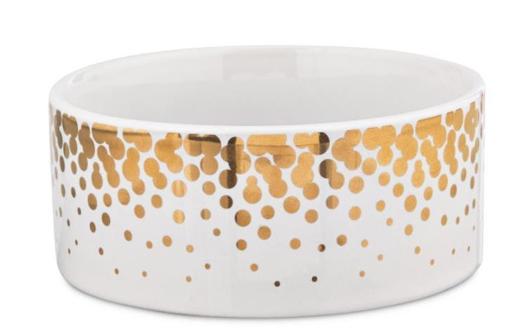 Top Paw ceramic dog bowl