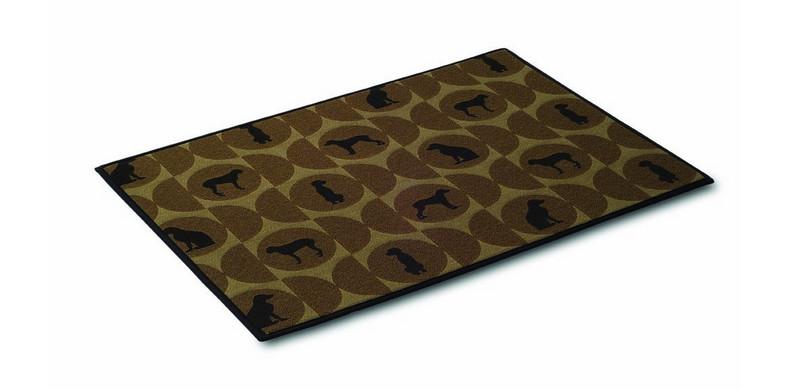Crypton Super Fabrics Mess Mat, Polka Dog Cork