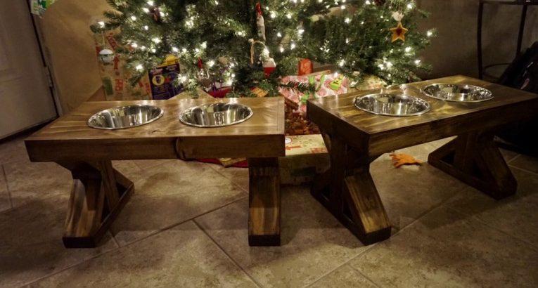 Raised Dog Bowls for Large Breeds!