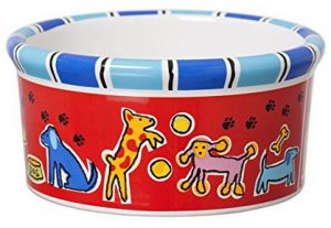 Signature Housewares Run Spot Run Dog Bowl