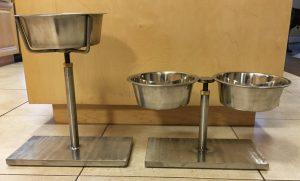 Adjustable Elevated Dog Bowl