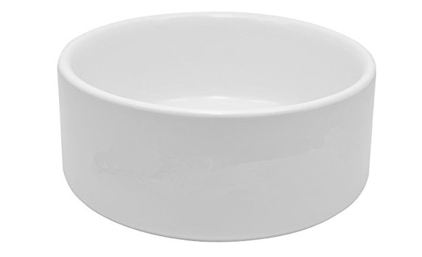 Longforte - Large Blank Ceramic Dog Bowl