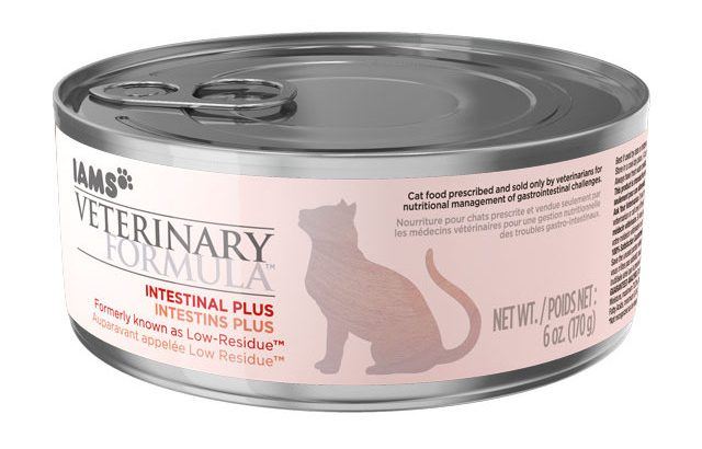 IAMS veterinary formula intestinal plus low residue dry cat food