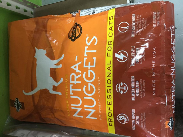 The Variants of Nutra Nuggets Cat Food Costco