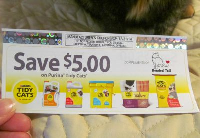 The Most Recent Tidy Cats Coupon to Use and Where to Get Them