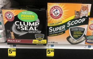 How to Use the Arm and Hammer Cat Litter Coupons