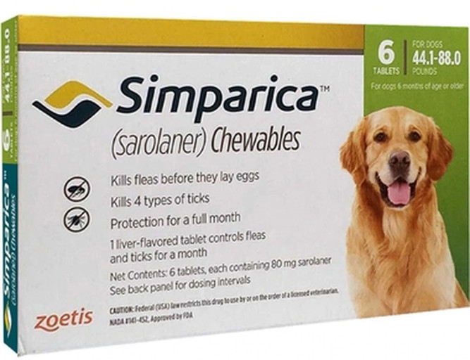 Simparica Seizures and Reports Related to This Condition